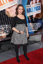Alyssa milano at the hall pass los angeles premiere cinerama dome hollywood ca Royalty Free Stock Photography