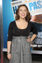 Alyssa milano los angeles feb arrives at the hall pass premiere at arclight theaters on february in los angeles ca Stock Photos
