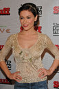 Alyssa milano at tom clancy s ghost recon launch party to benefit armed forces foundation at the house of blues west hollywood ca Royalty Free Stock Photos