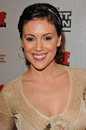 Alyssa milano at tom clancy s ghost recon launch party to benefit armed forces foundation at the house of blues west hollywood ca Stock Photography