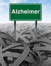 Alzheimer Disease and Dementia Medical concept Royalty Free Stock Photography