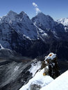 Ama Dablam Royalty Free Stock Photography