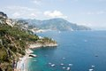 Amalfi coast italy panoramic view of the Stock Photo