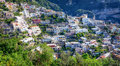 Amalfi coast typical old town at the in italy Stock Photography