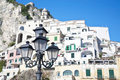 Amalfi Lightpost Royalty Free Stock Image