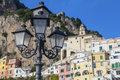 Amalfi view from the town of italy Stock Photo