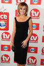 Amanda holden arriving at the tv choice awards held at the dorchester london picture by steve vas featureflash Royalty Free Stock Photography
