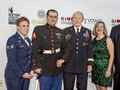 Amanda Martino, Steven Schulz, Martin Dempsey and Deanie Dempsey Royalty Free Stock Photo