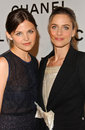 Amanda Peet, Ginnifer Goodwin Stock Images