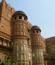 Amar Singh Gate at the Red Fort, Agra, India Royalty Free Stock Photo