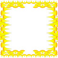 Amarelo de Wallper Foto de Stock Royalty Free