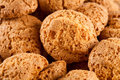 Amaretti - traditional italian cookies Royalty Free Stock Photography