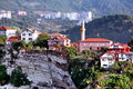 Amasra hillside view Royalty Free Stock Photography