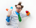 Amazed doctor Royalty Free Stock Photo