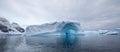Amazing Arch Icebergs
