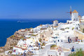 Amazing architecture oia village santorini island greece Stock Photo