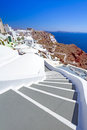 Amazing architecture oia village santorini island greece Royalty Free Stock Photo