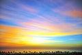 Amazing daybreak Royalty Free Stock Photo
