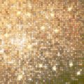 Amazing design on gold glittering eps template background vector file included Stock Images