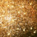 Amazing design on gold glittering eps template background vector file included Royalty Free Stock Photos