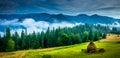 Amazing mountain landscape Royalty Free Stock Photo