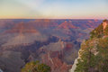 Amazing panorama view of Grand Canyon next to Hopi Point Royalty Free Stock Photo