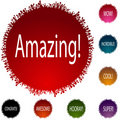 Amazing People Circle Set Royalty Free Stock Image