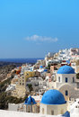 Amazing santorini oia village greece Stock Image