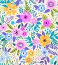 Amazing seamless floral pattern.