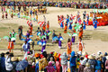 Amazing show crowded colorful public stadium phan rang viet nam oct at in kate carnival panorama group of vietnamese woman in Royalty Free Stock Photos