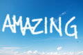 Amazing in the sky Royalty Free Stock Photo
