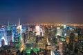 Amazing skyline of Manhattan - New York Skyscrapers