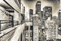 Amazing Skyline Of New York At...