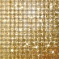 Amazing template on gold glittering eps design background vector file included Royalty Free Stock Photography