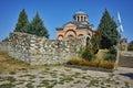 Amazing view of Medieval Monastery St. John the Baptist, Kardzhali Royalty Free Stock Photo