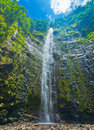 Amazing Waterfall Royalty Free Stock Photos
