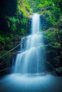 Amazing Waterfall Stock Photography