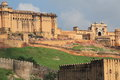 Amber Fort.Jaipur.India. Stock Images