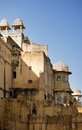 Amber fort jaipur rajasthan state india Royalty Free Stock Image
