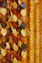 Amber Necklaces Royalty Free Stock Photos