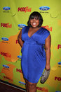 Amber riley arriving at the fox fall eco casino party at boa steakhouse in west los angeles ca on september Stock Images