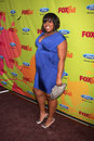 Amber riley arriving at the fox fall eco casino party at boa steakhouse in west los angeles ca on september Royalty Free Stock Photo