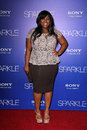 Amber riley at the sparkle premiere chinese theater hollywood ca Royalty Free Stock Photography