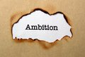 Ambition concept close up of Royalty Free Stock Image