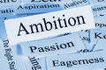 Ambition a conceptual look at Royalty Free Stock Photos