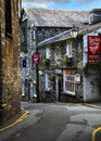Ambleside cumbria street view in lake district uk Stock Images