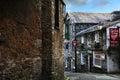 Ambleside cumbria street view in lake district uk Royalty Free Stock Photo