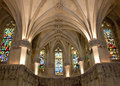 Amboise castle. Chapel where Leonardo da Vinci Royalty Free Stock Photo