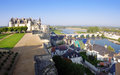Amboise castle france september the royal casrle of is the largest in the loire valley in of wide angle photo from Stock Photo