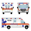 Ambulance car Royalty Free Stock Photography
